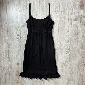 VERA WANG silk black dress 6